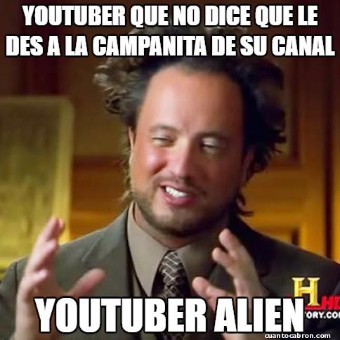 Ancient_aliens - YouTubers y su maldita manía