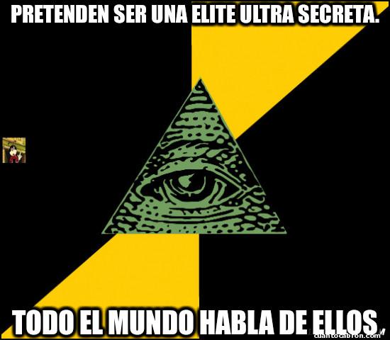 Meme_otros - Y asi funciona el cuidado de los illuminati