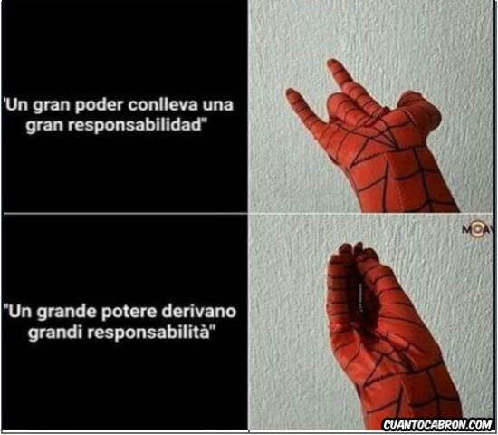 Otros - Spiderman Italiano