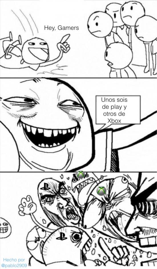 Omg_run - Gamers y sus discusiones