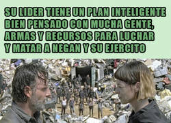 Enlace a The Walking Dead y su lógica suicida...