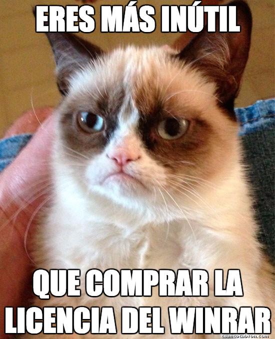 Grumpy_cat - Más inútil y se paga solo