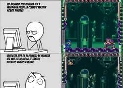Enlace a Cuando empiezas a jugar a Megaman