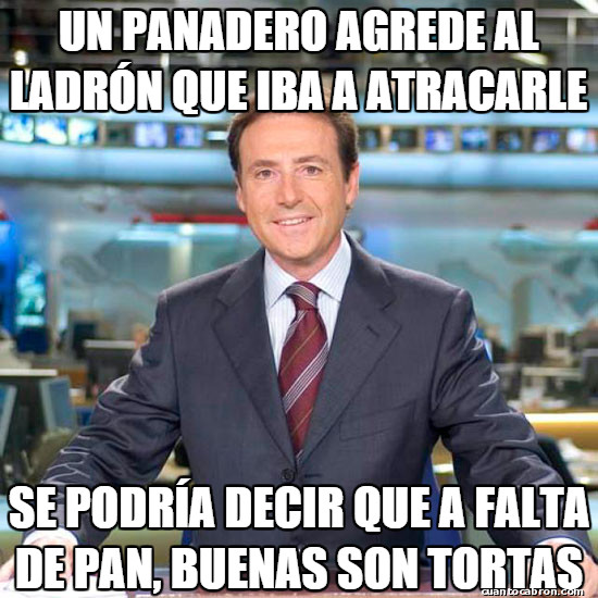 Meme_matias - Noticia de última hora en una panadería