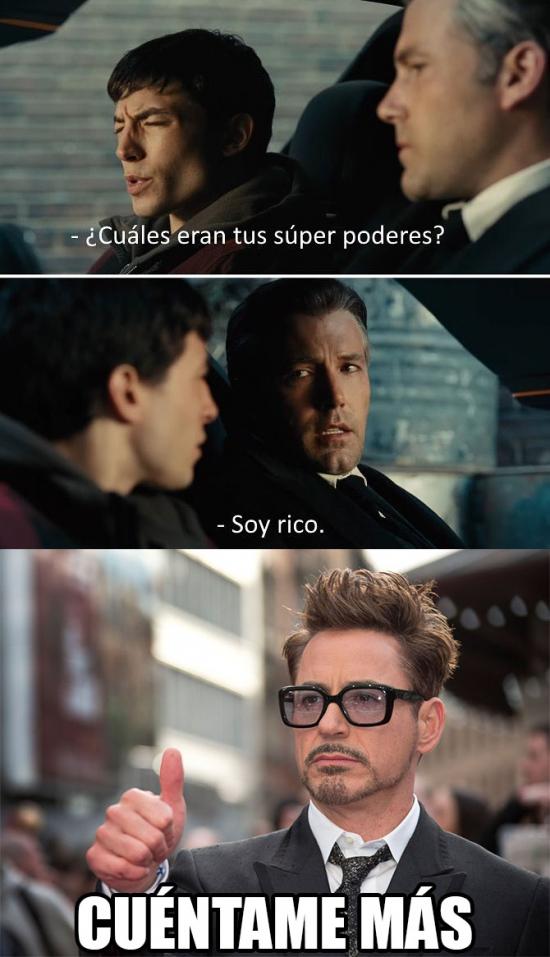 Meme_otros - Tony Stark no tiene rival en ese ámbito