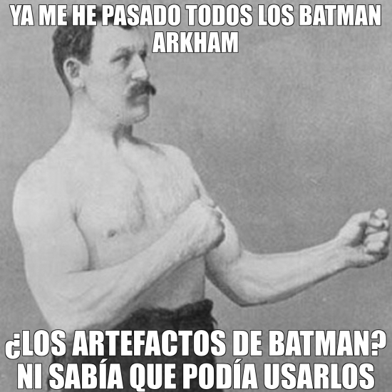 Overly_manly_man - Overly manly man solo usa sus manos