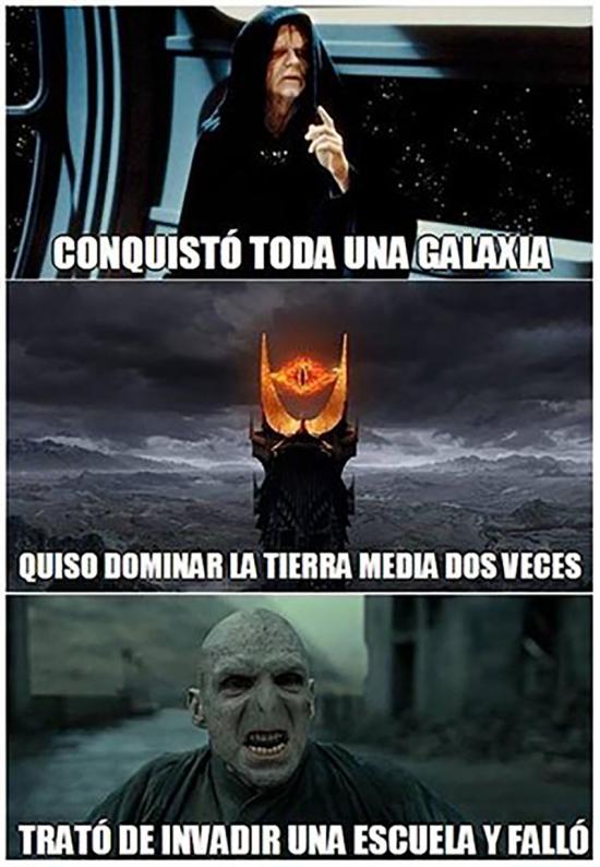 Meme_otros - Voldemort no es nada poderoso