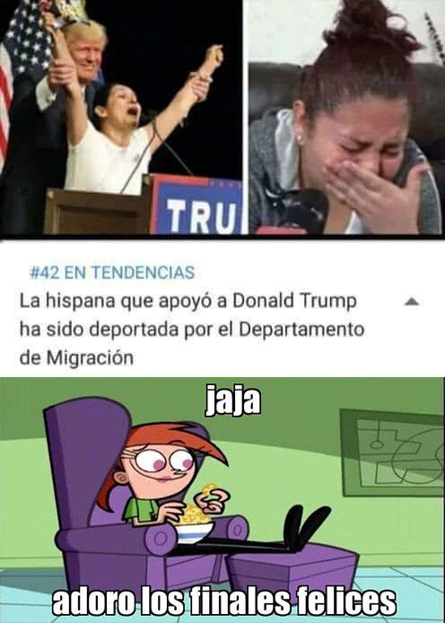 Meme_otros - Donald Trump no tiene piedad
