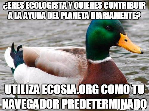 Pato_consejero - Busquemos salvar al planeta