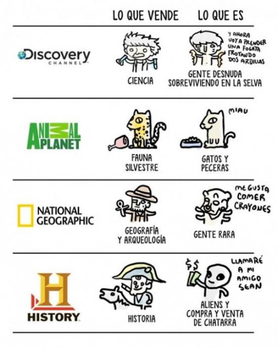 Meme_otros - La realidad de estos canales
