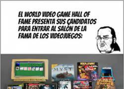 Enlace a ¡Los candidatos para el salón de la fama de los videojuegos!