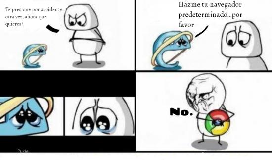 Otros - Internet Explorer y su deseo