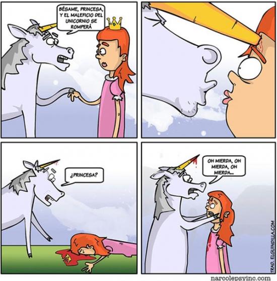 Otros - Romper el maleficio del unicornio