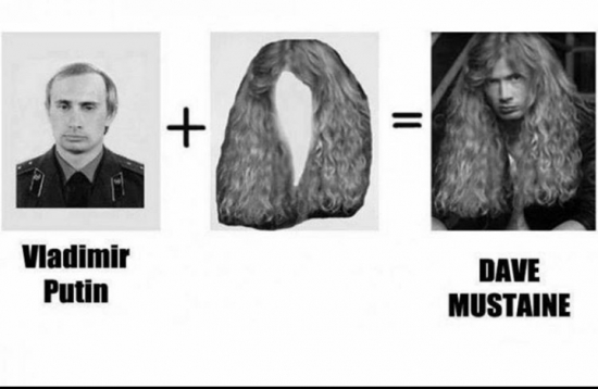 Meme_otros - Y de aquí salió Dave Mustaine