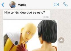 Enlace a Madre tiene una duda acerca del meme de Saitama y el final es épico