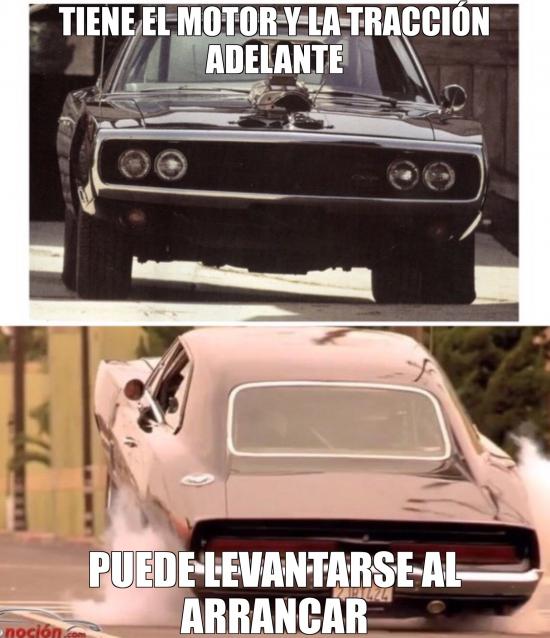 Meme_otros - La magia del charger de Toretto