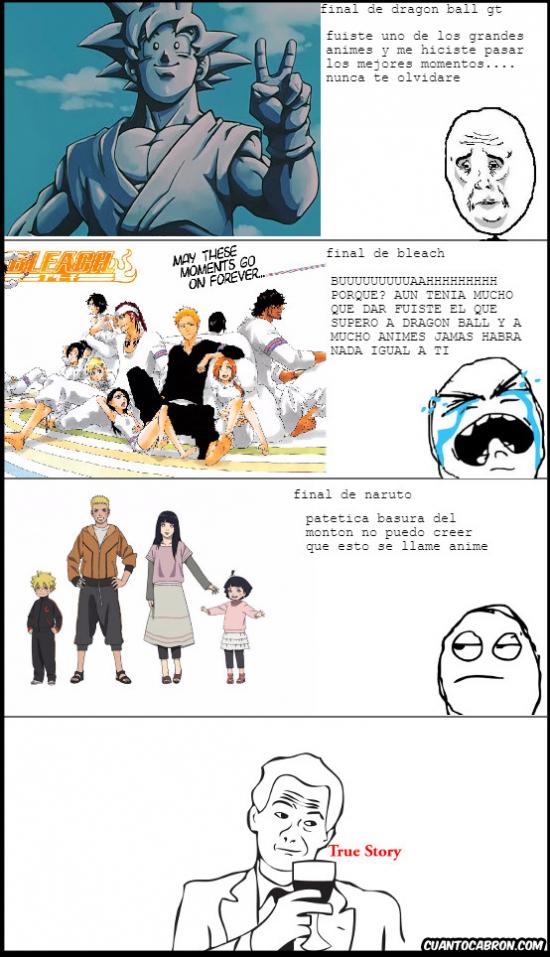True_story - Analizando algunos animes