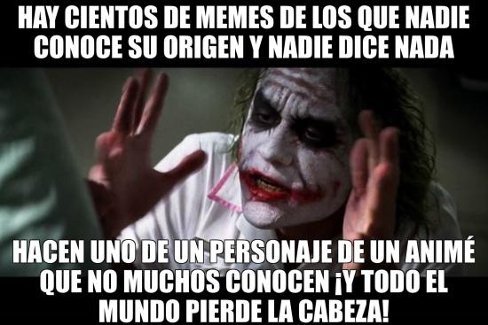Joker - El origen de algunos memes parece relevante