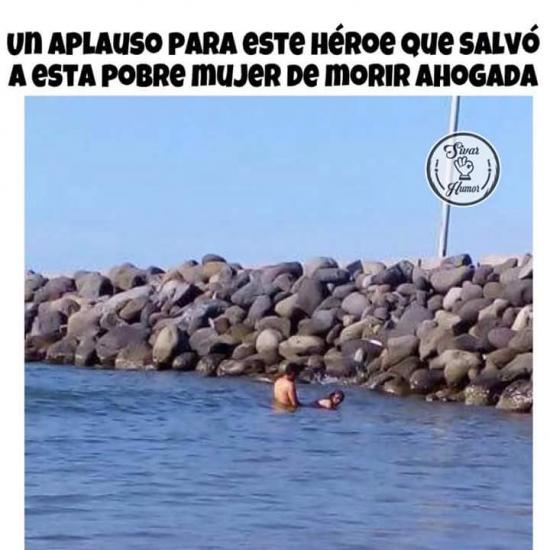 Meme_otros - ¡Es todo un héroe sin capa!