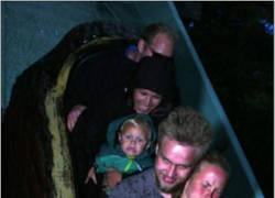 Enlace a La Momia fue al parque acuático