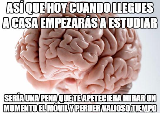 Cerebro_troll - La adicción al móvil me quita mucho tiempo...¡La culpa es de mi cerebro!