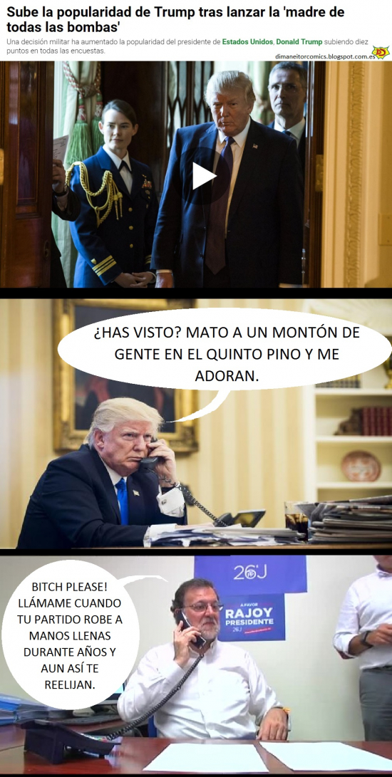 Otros - Trump vuelve a telefonear a Rajoy