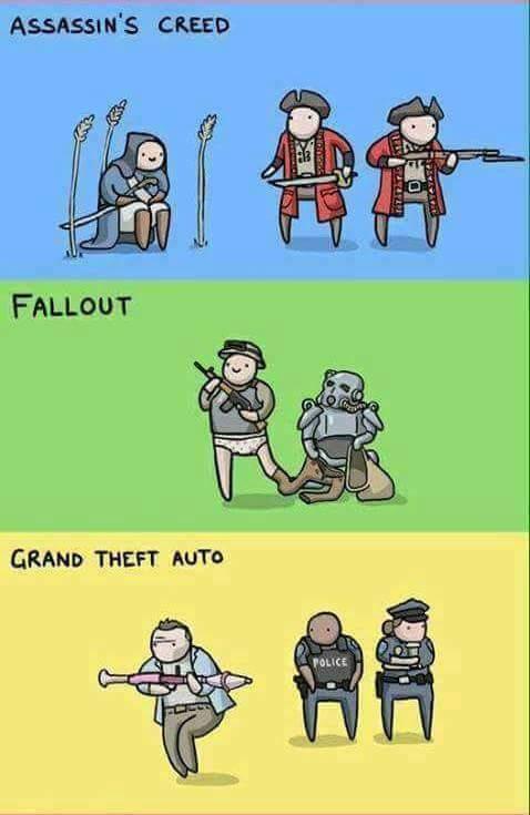 Meme_otros - La lógica de los videojuegos