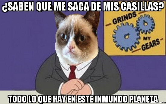 Grumpy_cat - ¡Odia absolutamente todo!