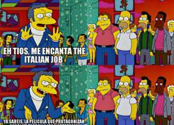 Enlace a The Italian Job también conocida como la de los minis