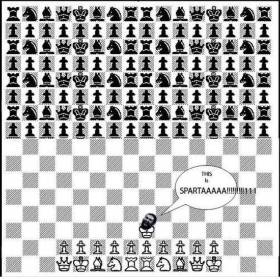 Otros - Ajedrez versión Esparta