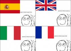 Enlace a Aniversario en distintos idiomas