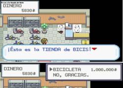 Enlace a La bici de Pokémon Rojo Fuego