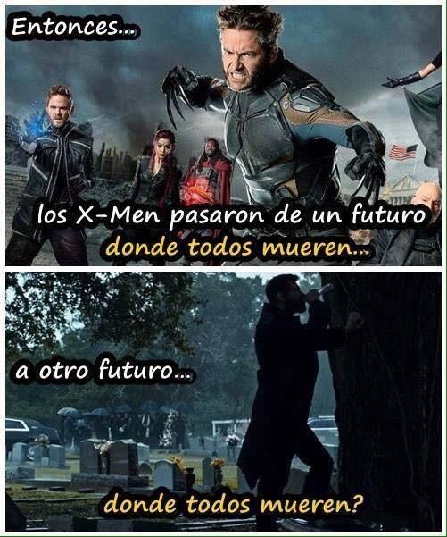 Meme_otros - La lógica de Marvel con los X-Men