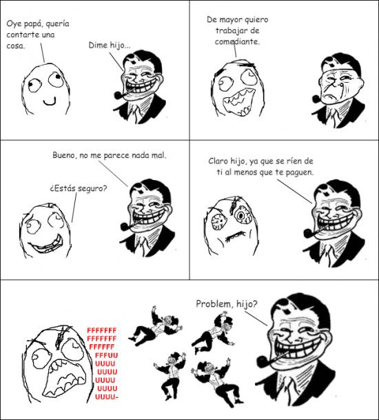 Trolldad - Cuando tu padre se toma a broma tu futuro...