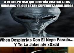 Enlace a La razón por la cual los extraterrestres no nos visitan
