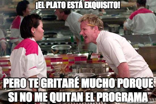 Chef_ramsay - La crueldad de los concursos de cocina