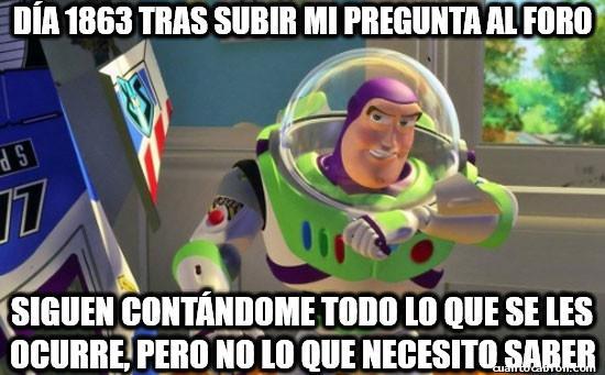 Buzz_lightyear - No hay manera...