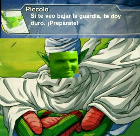 Meme_otros - Piccolo es un casanova