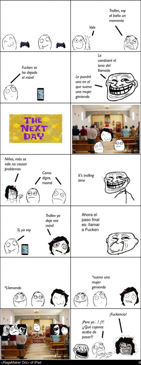 Mix - Trolleada en la iglesia