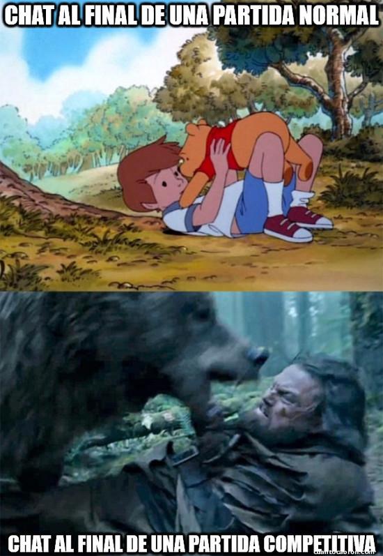 Bear_leo - Duele bajar de rango...