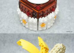 Enlace a ¡Arte de comida versión LEGO!