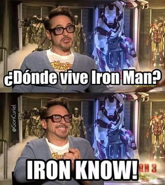 Meme_otros - Stark se vuelve muy troll