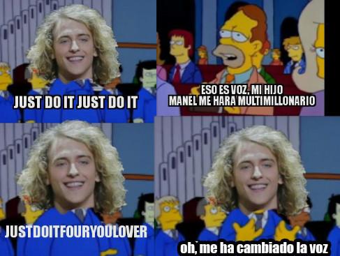Meme_otros - Los Simpson volvieron a ver el futuro