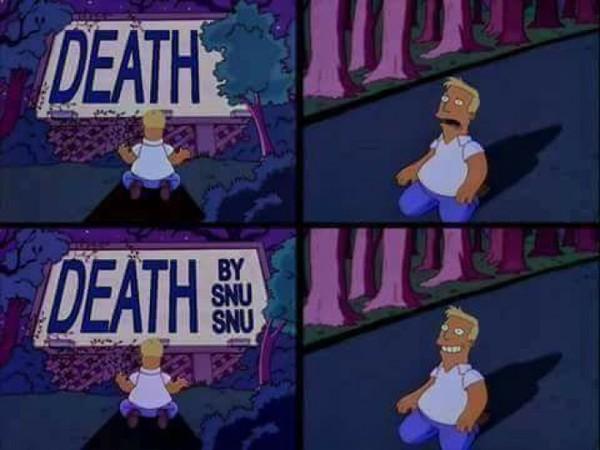 Meme_otros - Morir no es relevante, la forma de hacerlo sí