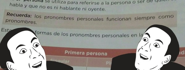 Otros - Cuando los pronombres no funcionan como cebollas