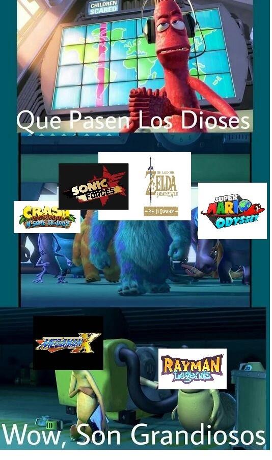 Meme_mix - Tienen demasiado nivel esos juegos