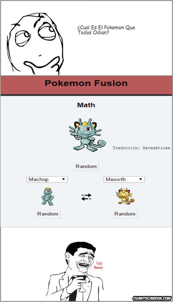 Yao - El Pokémon que todos odian