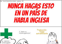 Enlace a If you no hablar English very well