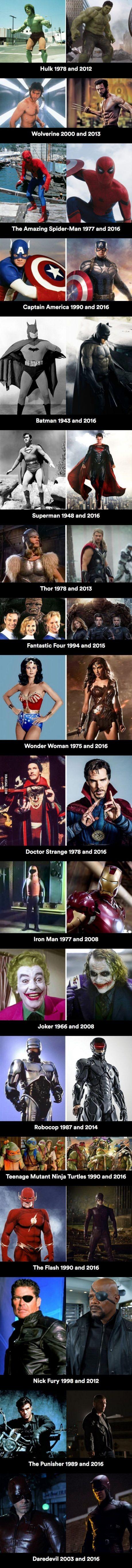 Meme_otros - Las tranformaciones más drásticas en el mundo de los superhéroes