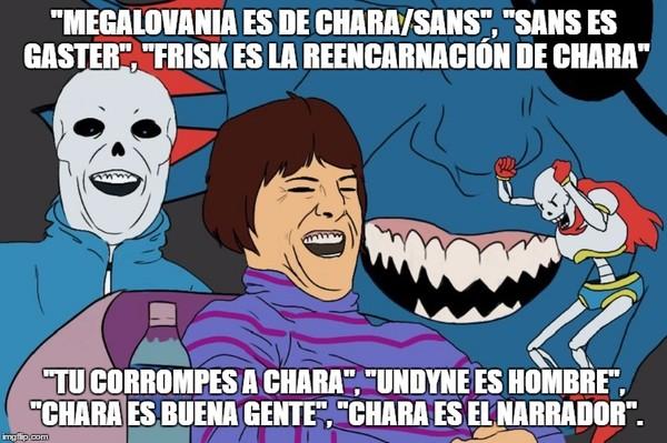 Meme_otros - Las tonterías del fandom de Undertale
